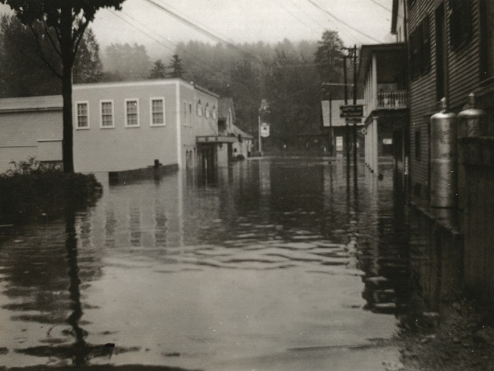 School St. flood