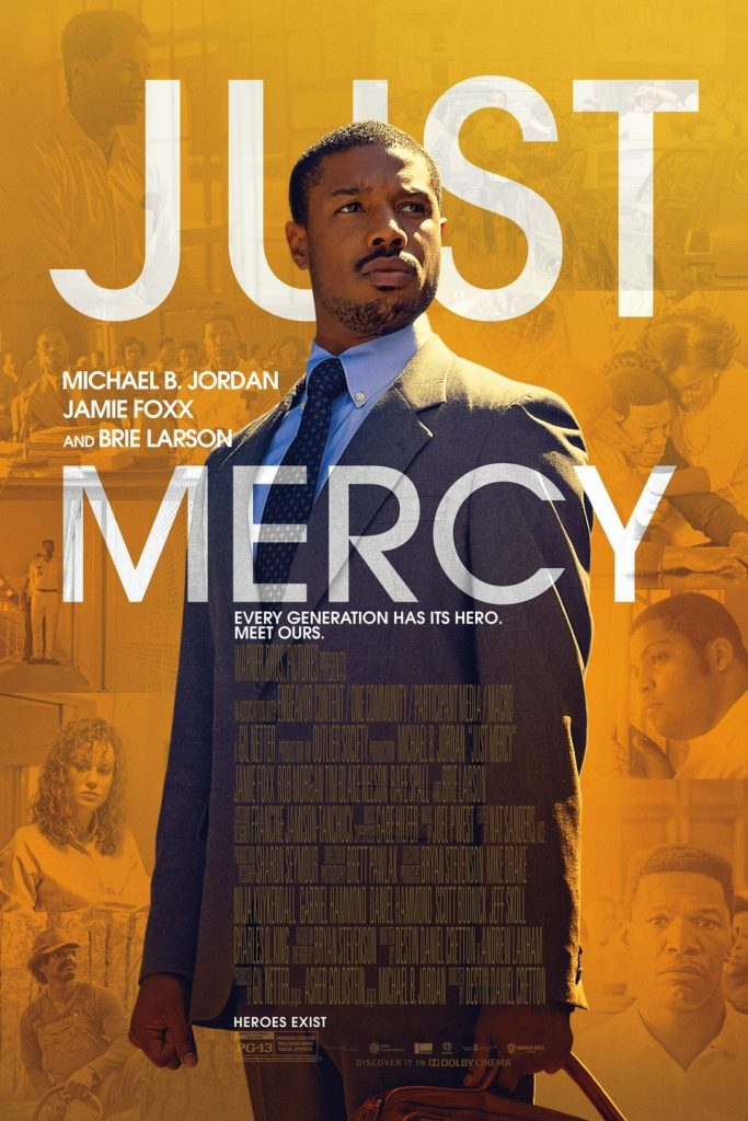 movie poster of just mercy